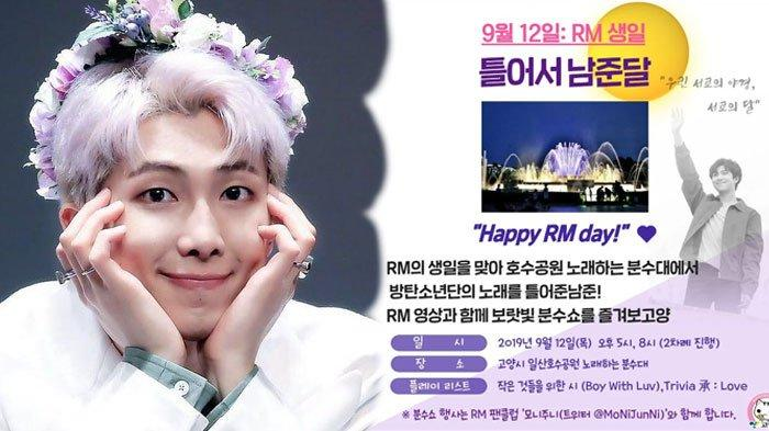Jelang Ulang Tahun RM BTS, Kampung Halaman Kim Namjoon Adakan Festival Selama Satu Bulan