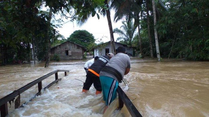 Gegara Rasionalisasi Pembangunan Jembatan di Desa Bukit Subur Penajam Tertunda