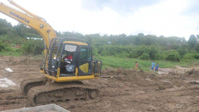Pengerjaan Jembatan di Karang Harapan Tarakan Capai 85 Persen, Anak Kampung Swaran Beri Semangat
