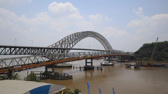 Perlu Diketahui, Ini Rekayasa Lalu Lintas Saat Melintas di Atas Jembatan Mahakam IV Samarinda Kaltim