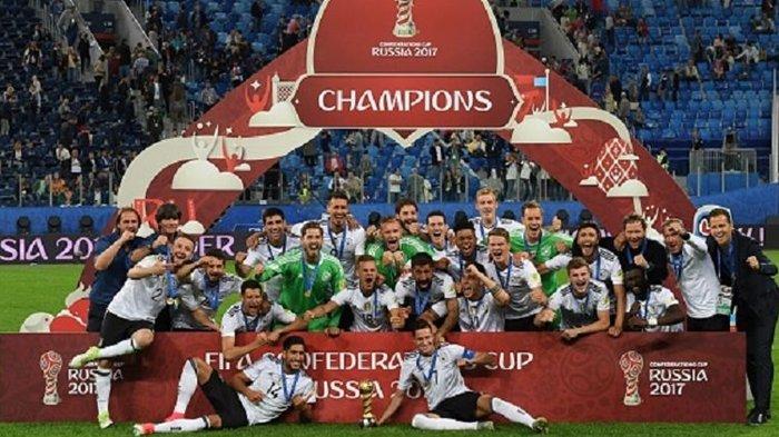 Pertama Kali, Jerman Juara Piala Konfederasi
