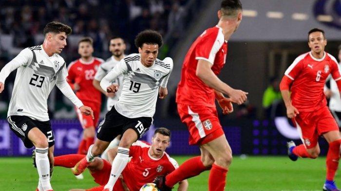 Jerman vs Serbia Berakhir Imbang, Joachim Loew Puji Mentalitas Joshua Kimmich dkk
