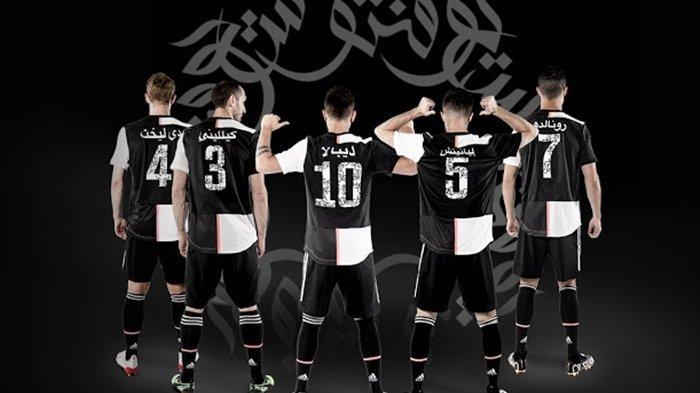 Juventus vs Lazio Super Coppa Italia, Lihat Jersey Spesial Ronaldo dkk Bernuansa Arab