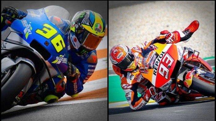 Hasil MotoGP Portugal, Siapa Tercepat? Ulah Marquez Sebelum Race, Pakai Taktik Kotor, Joan Mir Geram