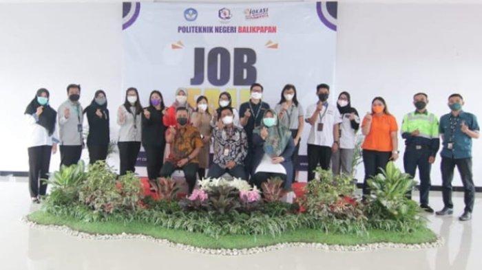 Penyaluran Kompetensi Mahasiswa Akhir maupun Alumni, 14 Perusahaan Ramaikan Job Fair Poltekba