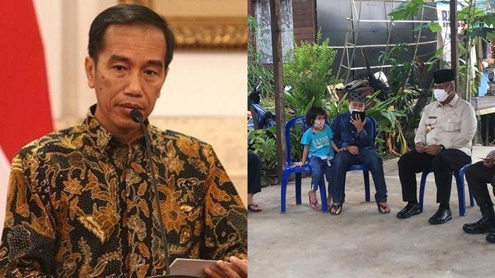 Ayah Ibunya Meninggal karena Covid-19, Arga Bocah Asal Kutai Kartanegara di Video Call Jokowi