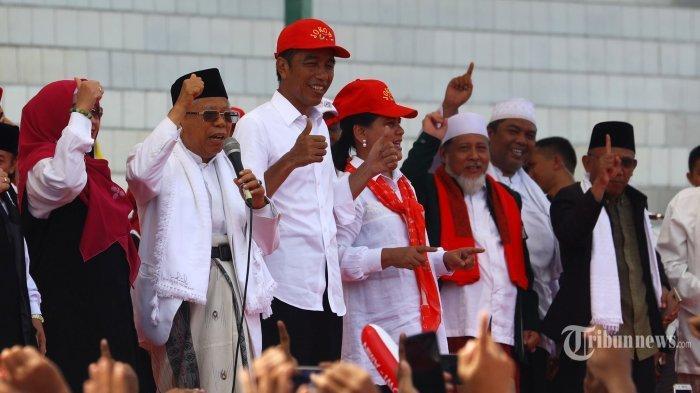Begini Ungkapan Jokowi dan Ma'ruf Amin Jika Prabowo-Sandi Bersedia Hadir di Acara Pelantikannya