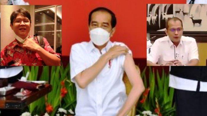 Jokowi Dapat Vaksin Pertama, Herdiansyah Hamzah Keras Menanggapi Ancaman Sanksi dari Wamenkum HAM