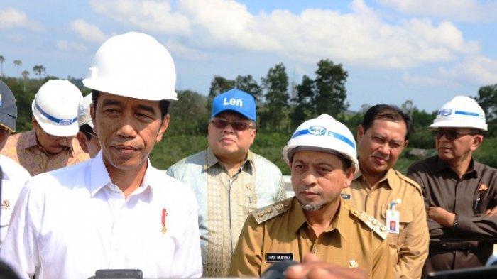 Begini Respon Gubernur Kalsel Syahbirin Noor Saat Jokowi Tak Sebutkan Lokasi Konrkit Ibu Kota Baru