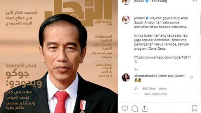 Ulas Jokowi hingga 14 Halaman,Ternyata Ini SegmenPembaca Majalah Gaya Hidup Arab Saudi Arrajol