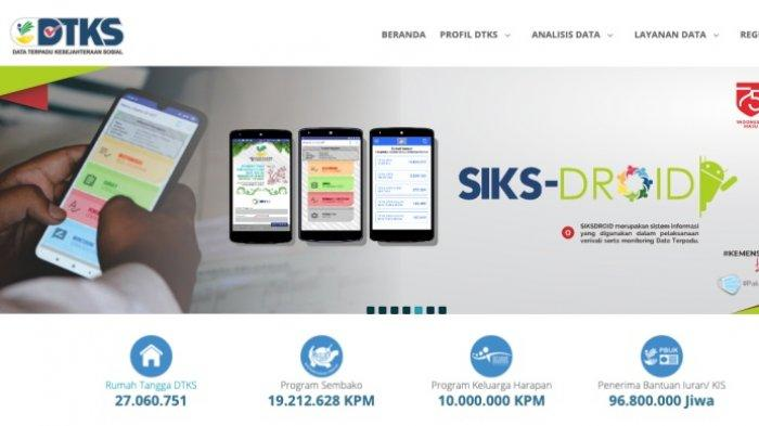 Jokowi Minta Mensos Salurkan Bansos Awal Januari 2021, Cek NIK KTP Data Penerima dtks.kemensos.go.id