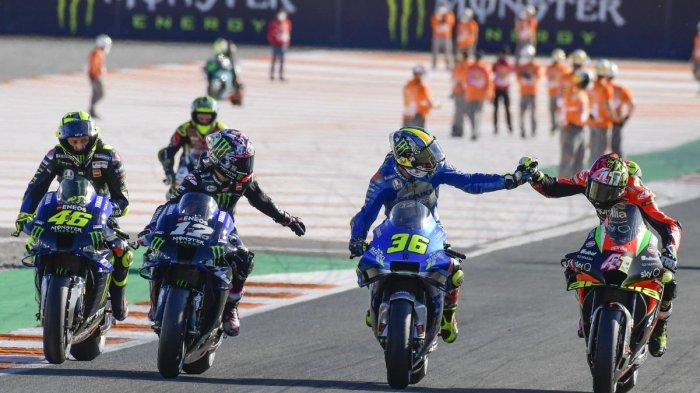 Update Starting Grid MotoGP Portugal 2020, Live Streaming Trans 7 & Usee TV, Rossi Banyak Mengeluh