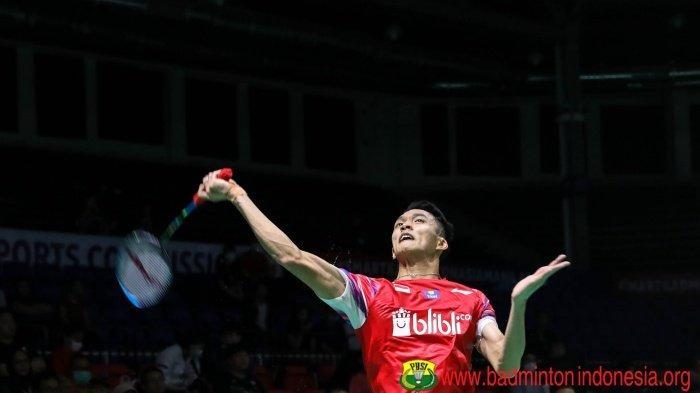Jonatan Christie Belum Sumbang Poin di Badminton Asia Team Championships 2020, Evaluasi Susy Susanti