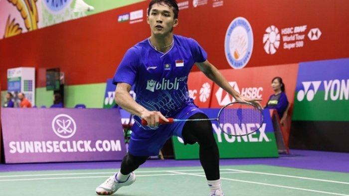 Indonesia Masters 2020 Jonatan Christie Dapat Lawan dari India, Incar Level Super 500 Demi Olimpiade
