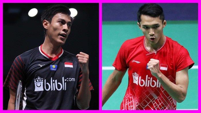Rekap Hasil dan Jadwal Fuzhou China Open 2019, 8 Wakil Indonesia Bertanding, Ada Perang Saudara