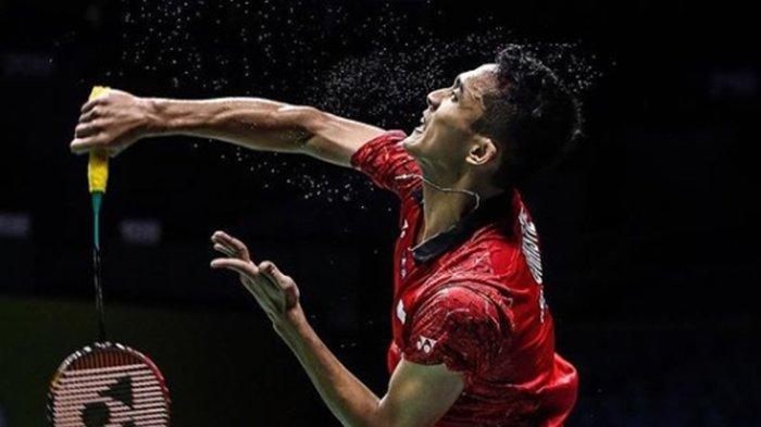 BERLANSUNG Jonatan Christie vs Aram Mahmoed Badminton Olimpiade Tokyo 2020, Link Live Streaming
