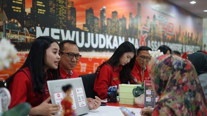 Telkomsel Konsisten Tingkatkan Ekosistem 4G LTE di Area Pamasuka,Papua Maluku Sulawesi Kalimantan