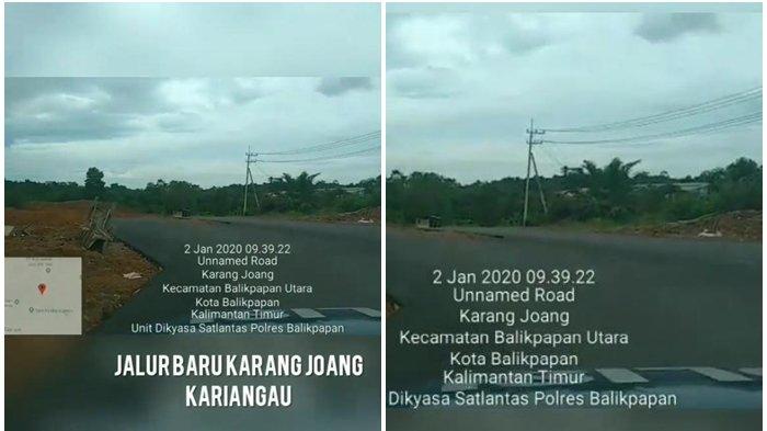 Beredar di Media Sosial Jalan Kilometer 13 Tembus Pelabuhan Kariangau Balikpapan, Ini Kata Dishub