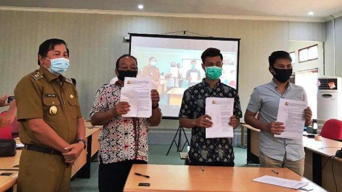 Program Pamsimas Jangkau 12 Kampung di Mahulu, Kerjasamanya Disaksikan Wabup