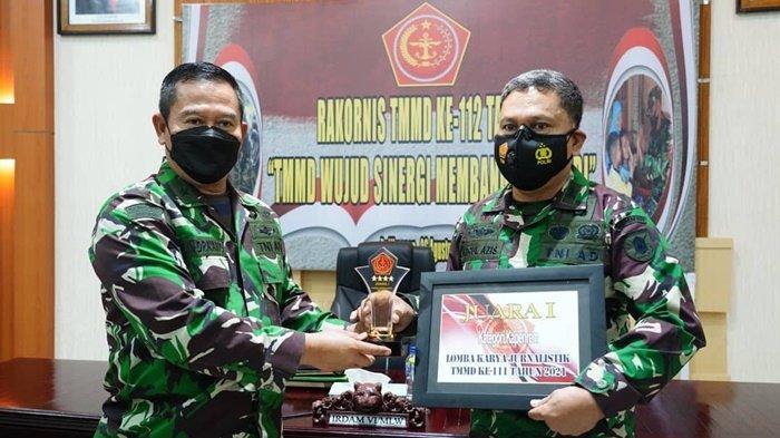 Kapenrem 091/ASN Raih Juara Satu Lomba Jurnalistik TMMD Ke-111