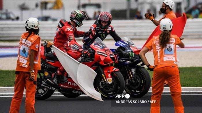 Jam Tayang & Jadwal MotoGP Amerika 2021: Butuh Keajaiban Jegal Quartararo Raih Gelar Juara Dunia