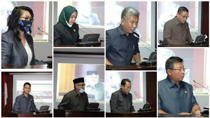 Delapan Fraksi Sampaikan Berbagai Persoalan di Kaltim dalam Rapat Paripurna DPRD