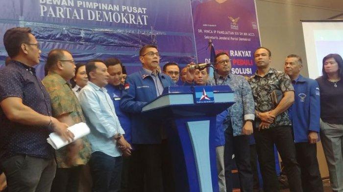 Setelah Rapat 9 Jam, Demokrat Sebut Institusi Siluman yang Jadi Inisiator Perusak Atribut Partai