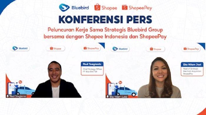 Ingin Berangkat Aman, Belanja Nyaman Bersama Bluebird Group, Shopee Indonesia, dan ShopeePay