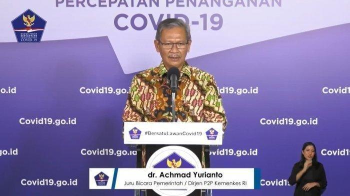 Ada Kabar Baik Pasien Sembuh, Berikut Update Data Sebaran Corona di Indonesia 30 Juni, Tambah 1.293