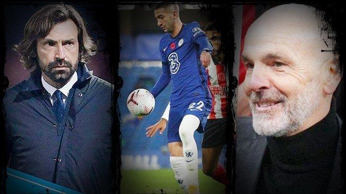TRANSFER Liga Italia: Jadi Pesakitan di Klub Liga Inggris, AC Milan & Juventus Berebut Hakim Ziyech!