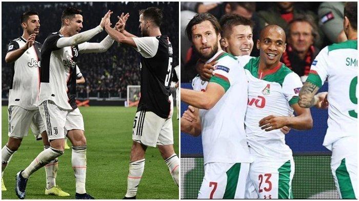 Live Streaming TV Online Juventus vs Lokomotiv Moskow, Cristiano Ronaldo vs Eks Pemain Inter Milan