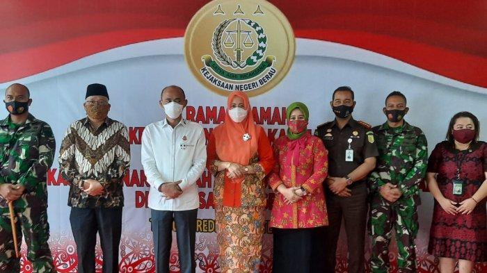 Kajati Kaltim Kunjungi Kantor Kejari Berau, Memuji Gedungnya Paling Bagus di Kalimantan Timur