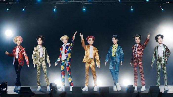 Kabar Bahagia Buat Para ARMY! BTS Mattel Dolls Dirilis, Dijual Seharga Rp 200 Ribu di Indonesia