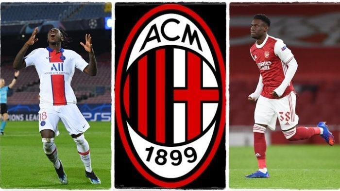 Gemilang Bersama PSG, AC Milan Pulangkan Moise Kean ke Liga Italia, Striker Arsenal Juga Diburu