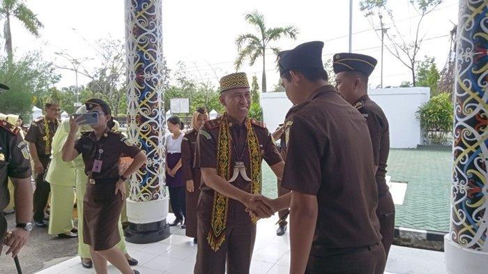 Kunjungi Kejaksaan Negeri Bulungan, Kajati Kaltim Chaerul Amir Sebut untuk Konsolidasi Internal