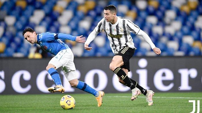 Hasil Liga Italia, Gol Kontroversial Napoli Kubur Ambisi Juventus Dekati AC Milan, Ronaldo Mandul