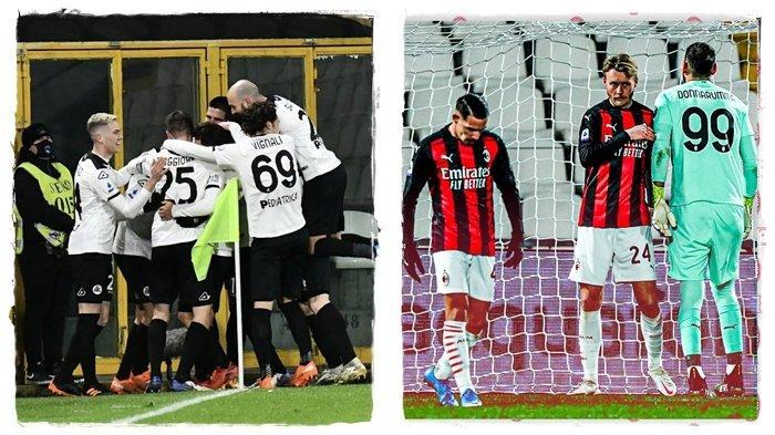Hasil AC Milan Terbaru - Pimpinan Klasemen Liga Italia Takluk dari Tim Promosi, Inter Intip Peluang