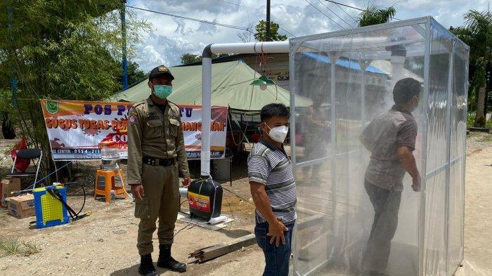 Pandemi Virus Corona, Sopir Angkutan Logistik di Berau Kalimantan Timur Wajib Cek Kesehatan