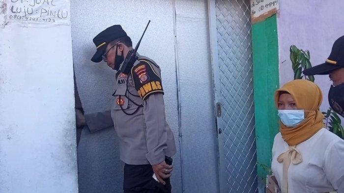 Proses Evakuasi Jasad Lansia Berjalan Lancar, Rumah Almarhumah Disemprot Disinfektan