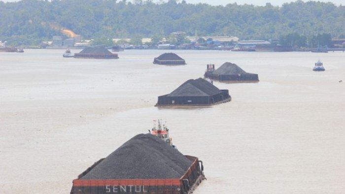 Kapal Bermuatan Batubara Karam di Area Pulau Kambing Kecamatan Anggana Kukar, Seorang ABK Hilang