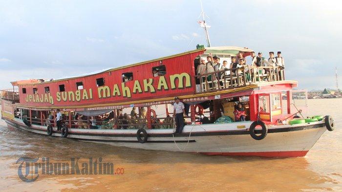 Ayo Naik Kapal Wisata Susuri Indahnya Sungai Mahakam Tribun Kaltim