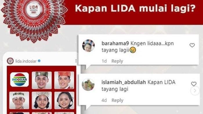 Kata Indosiar Soal Jadwal Tayang LIDA 2021