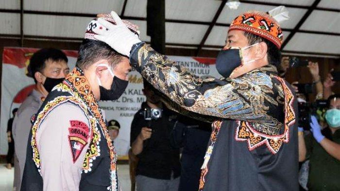 Bupati Sambut Kapolda Kaltim, Kunjungan Kerja Perdana ke Kabupaten Mahakam Ulu