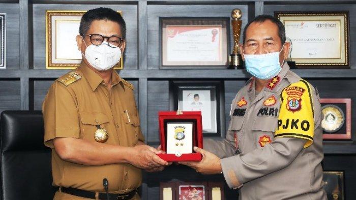 Jaga Sinergisitas, Kapolda Irjen Pol Bambang Kristiono Silaturahmi dengan Gubernur dan Jajaran