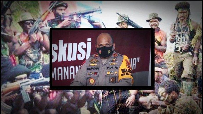 UPDATE TNI/Polri Kuasai 4 Sarang <a href='https://manado.tribunnews.com/tag/kkb' title='KKB'>KKB</a> <a href='https://manado.tribunnews.com/tag/papua' title='Papua'>Papua</a>, Kapolda Jawab Tantangan Perang: Saya dan Pangdam Jemput