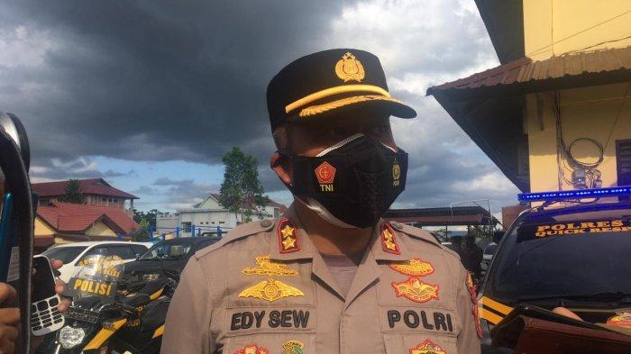 Kapolres Berau Ingatkan Warga Jangan Terlena Kasus Covid-19 Turun, Terus Tingkatkan Prokes