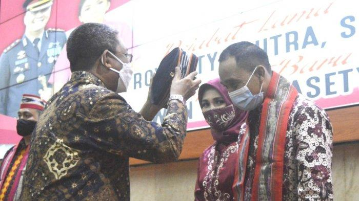 Pjs Bupati Syirajudin Hadiri Kenal Pamit Kapolres Kutai Barat