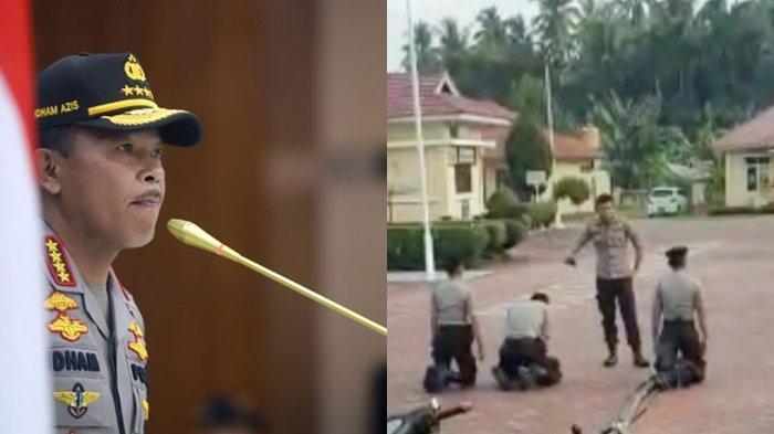 Perintah Kapolri Idham Azis Terkait Video Viral Perwira Polisi Pukul Tiga Bintara di Padang Pariaman