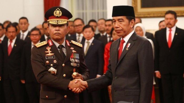 Skenario Idham Azis Batal Pensiun dari Kapolri Dibongkar Anggota DPR, Kunci di Presiden Jokowi