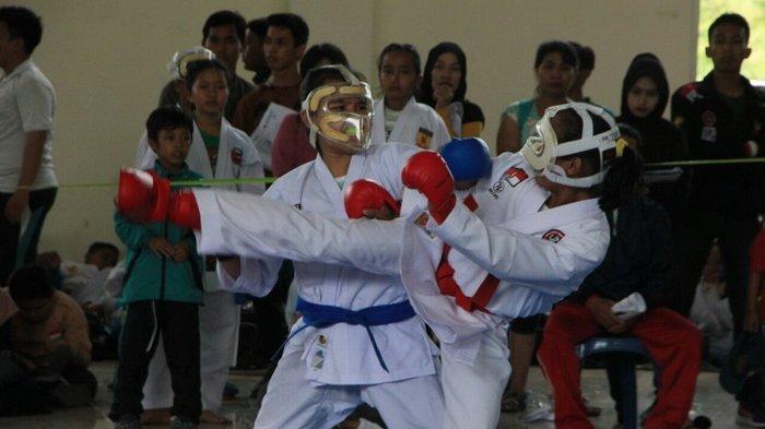 476 Karateka Kaltim Uji Mental di Piala Forki
